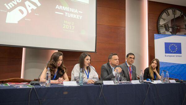 Армяно-турецкая конференция инвесторов в Ереване - Sputnik Армения
