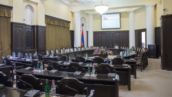 Зал заседания Правительства РА - Sputnik Армения