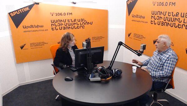 Աշոտ Բաղդասարյանը ներկայացնում է քանդակագործ Սարգիս Բաղդասարյանի «Մենք ենք մեր սարերը» հուշակոթողի ստեղծման պատմությունը - Sputnik Արմենիա