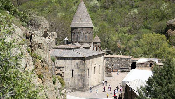 Гегардский монастырь, Армения - Sputnik Армения