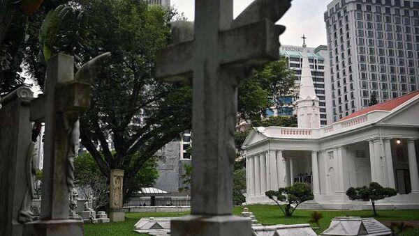 182-летняя армянская церковь в Сингапуре - Sputnik Армения