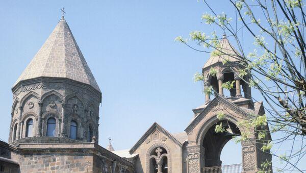 Эчмиадзинский кафедральный собор - Sputnik Армения