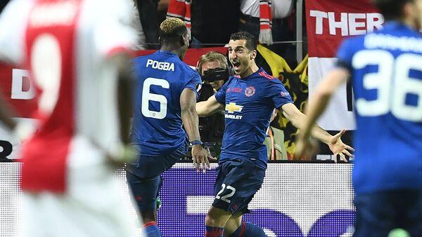 Генрих Мхитарян забил гол в финале Лиги Европы между английским Манчестер Юнайтед и голландским Аяксом - Sputnik Армения