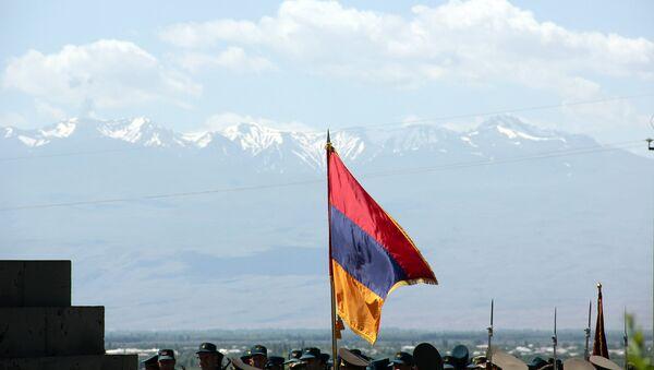 99-летие Первой Республики Армения в Сардарапате - Sputnik Армения
