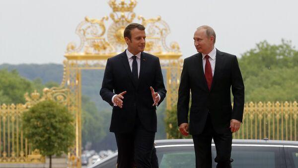 Официальный визит президента РФ В. Путина в Париж - Sputnik Армения