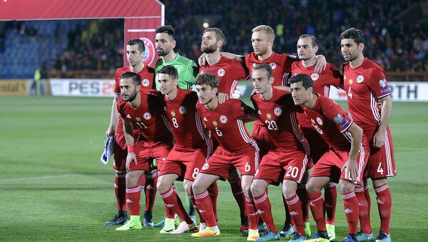 Национальная сборная Армении по футболу. Матч между сборными Армении и Казахстана - Sputnik Армения