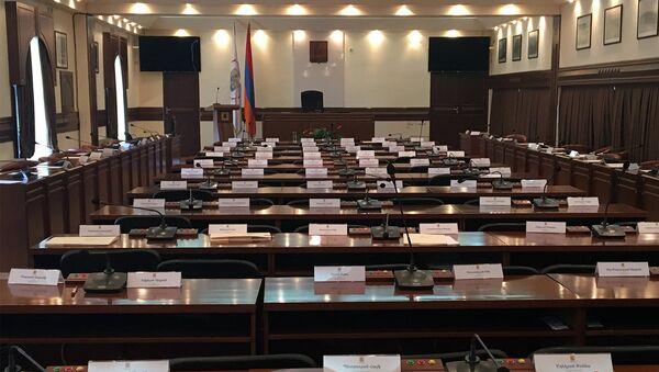 Зал заседаний Совета старейшин Еревана - Sputnik Արմենիա