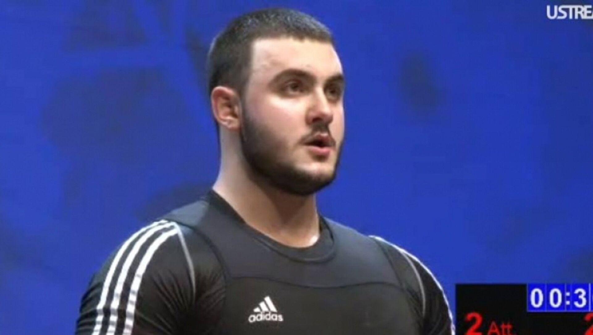 Самвел Гаспарян – бронзовый призер молодежного чемпионата мира - Sputnik Армения, 1920, 10.04.2021