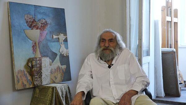 В полотнах Рубена Гевондяна Чаренц уступил свое место Параджанову, а Двин - Ани - Sputnik Армения