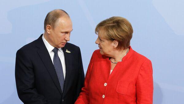 Президент РФ В. Путин принимает участие в саммите Группы двадцати в Гамбурге - Sputnik Армения