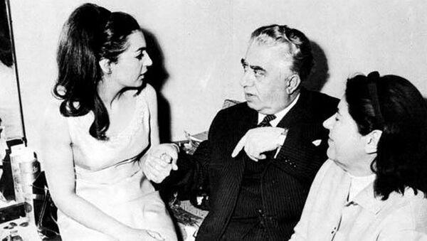 Рози Армен и Арам Хачатурян, 1965 год - Sputnik Армения
