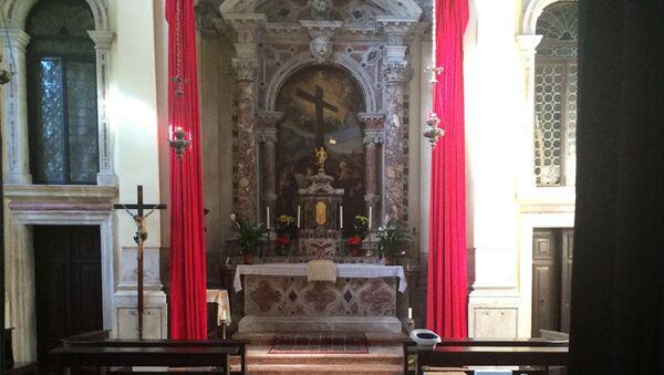 Армянская церковь Сурб Хач Айоц в Венеции - Sputnik Արմենիա