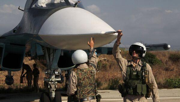 Российская боевая авиация на аэродроме Хмеймим в Сирии - Sputnik Արմենիա