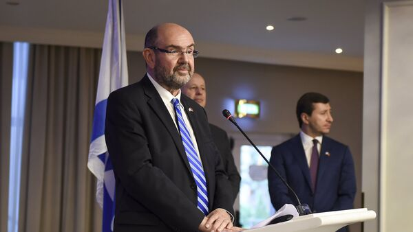 Посол Израиля Элияху Иерушалмин - Sputnik Армения