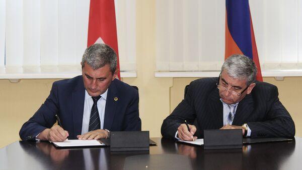 Делегация Службы национальной безопасности Армении находится в Грузии - Sputnik Армения