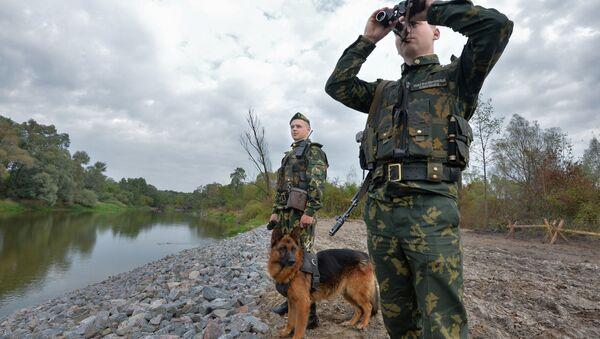 Участок белорусско-украинской границы вне пунктов пропуска - Sputnik Армения
