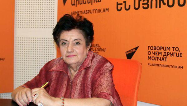 Карине Даниелян в гостях у радио Sputnik Армения - Sputnik Արմենիա