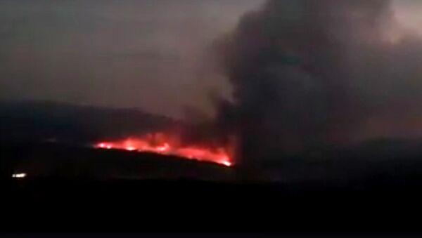 Пожар в лесах Джермука - Sputnik Армения