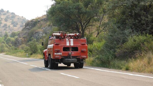 Пожар в Артаване - Sputnik Армения