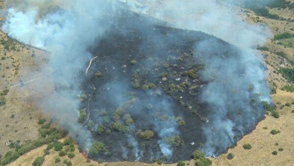 Пожар в Хосровском лесу - Sputnik Армения