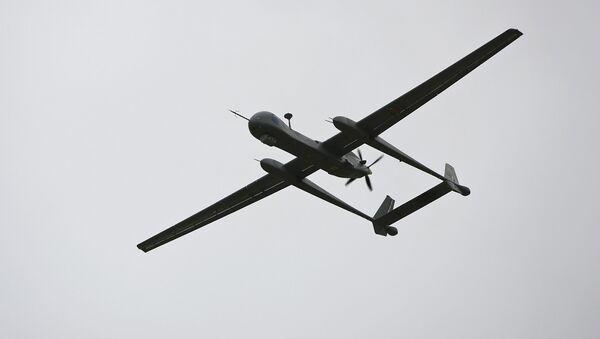 Израильский беспилотник IAI Heron - Sputnik Армения