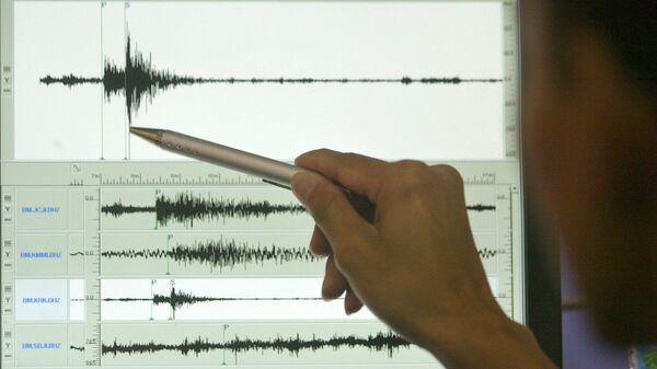 Сейсмограф. Землетрясение - Sputnik Արմենիա