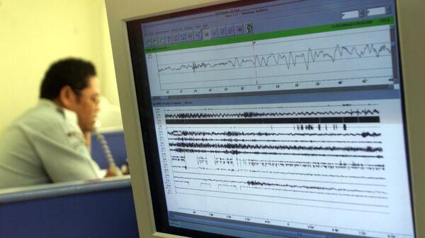 Сейсмограф. Землетрясение - Sputnik Армения