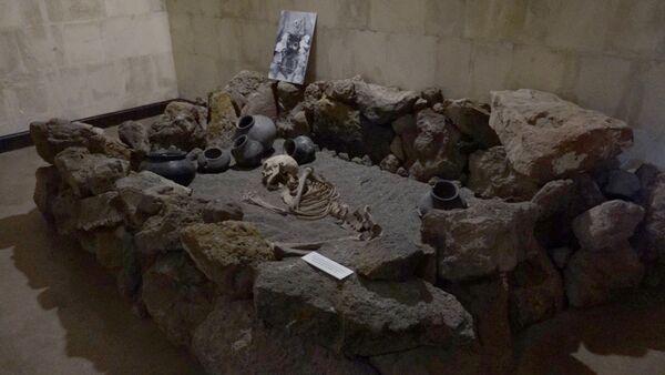 Экспонат историко-археологического музея «Мецамор» - Sputnik Армения