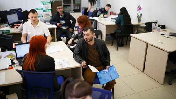 Центр содействия мигрантам. Россия - Sputnik Армения