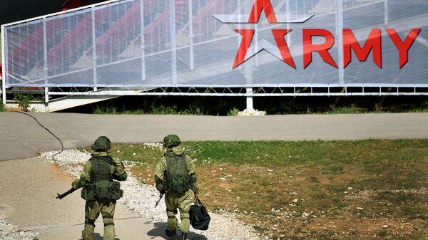 ՌԴ բանակի զինծառայողներ - Sputnik Արմենիա