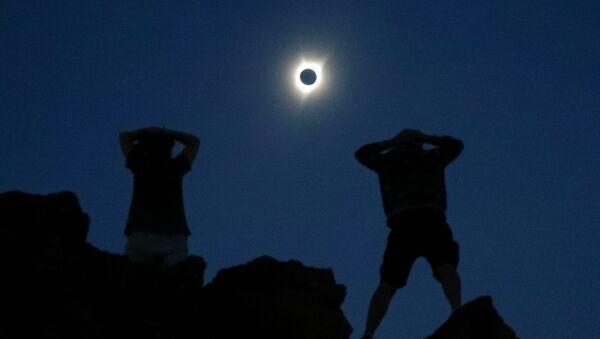 Полное солнечное затмение в США - Sputnik Армения