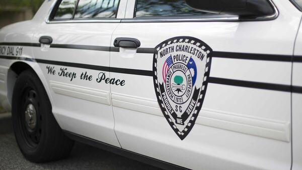 Полицейская машина города Чарльстон, США - Sputnik Армения
