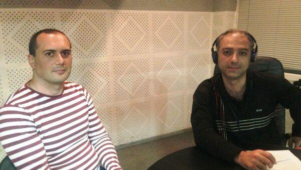 Արմեն Պետրոսյան և Արտակ Մուրադյան - Sputnik Արմենիա