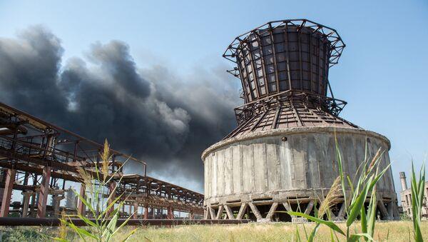 Пожар на заводе Наирит - Sputnik Արմենիա