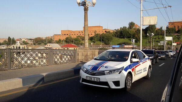 Машина дорожной полиции - Sputnik Արմենիա