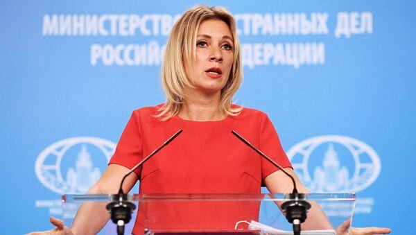 Мария Захарова - Sputnik Армения