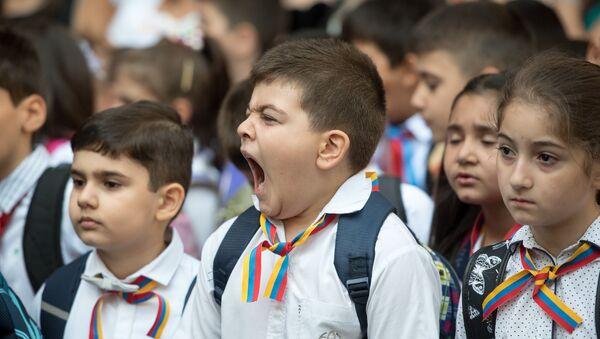 Первое сентября в Ереване - Sputnik Армения
