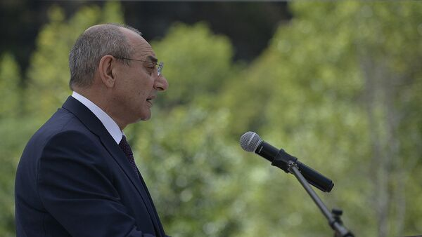 Президент Республики Арцах Бако Саакян - Sputnik Армения