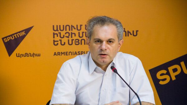 Пресс-конференция журнала Армения Туристическая Рубен Пашинян - Sputnik Армения