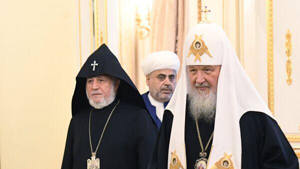 Встреча духовных лидеров Армении, Азербайджана и России - Sputnik Армения