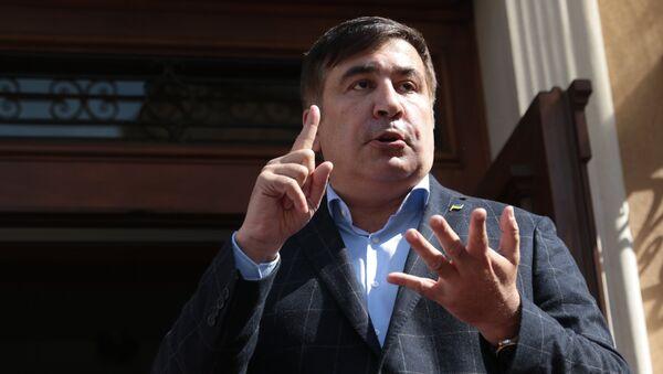 Пресс-конференция Михаила Саакашвили во Львове - Sputnik Армения