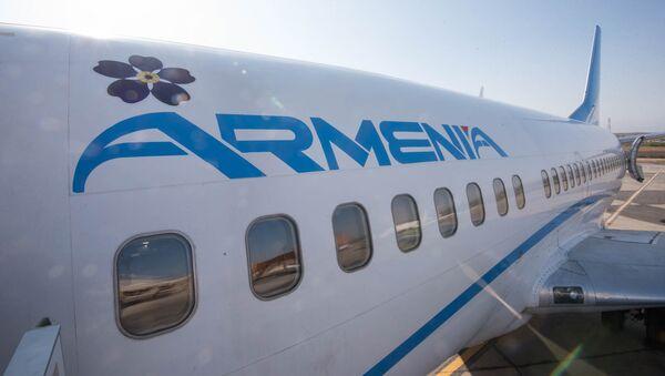 Самолет авиакомпании Armenia - Sputnik Արմենիա