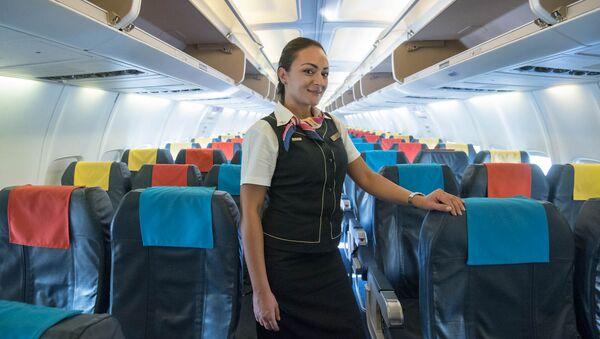 Стюардесса авиакомпании Armenia Лилит Саркисян - Sputnik Արմենիա