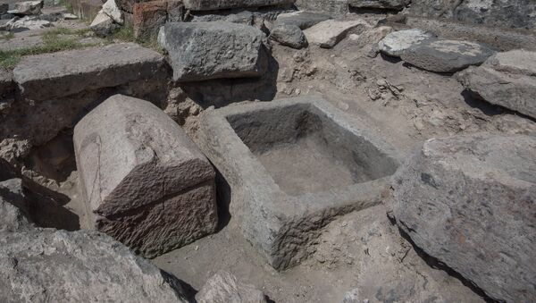 Раскопки в селе Агцк, Аштарак - Sputnik Արմենիա