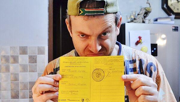 Российско-израильский блогер Александр Лапшин - Sputnik Армения