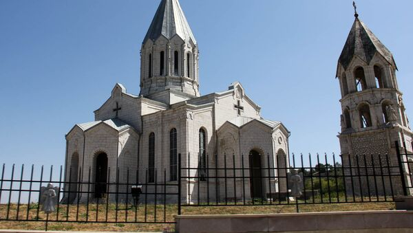 Церковь Казанчецоц, Республика Арцах - Sputnik Արմենիա