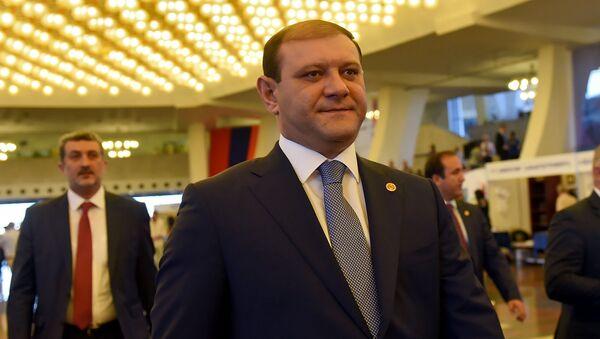 Тарон Маркарян на форуме Армения-Диаспора - Sputnik Армения