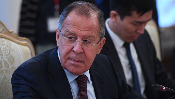 Министр иностранных дел РФ Сергей Лавров - Sputnik Армения