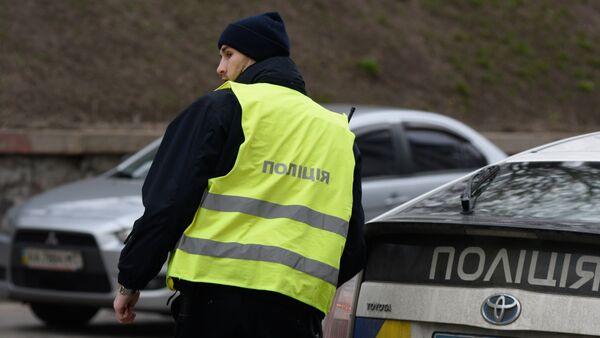 Сотрудники Украинской полиции в Киеве - Sputnik Արմենիա
