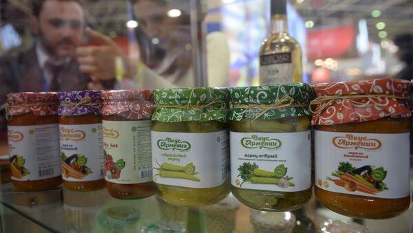 Стенд компании Вкус Армении на 24-й международной выставке продуктов питания - Sputnik Армения